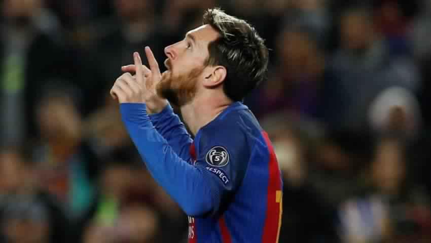 برشلونة يجدد عقده مع ميسي