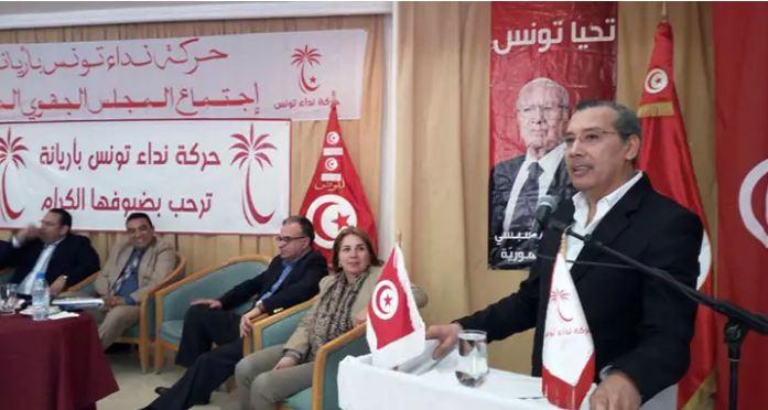 برهان بسيس: نداء تونس مستهدف من الأذرع الحقوقية والدكاكين السياسية!