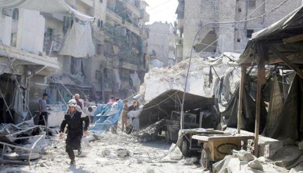 قصف ادلب الكيمياوي: ضحايا الهجوم استنشقوا غاز الأعصابظ