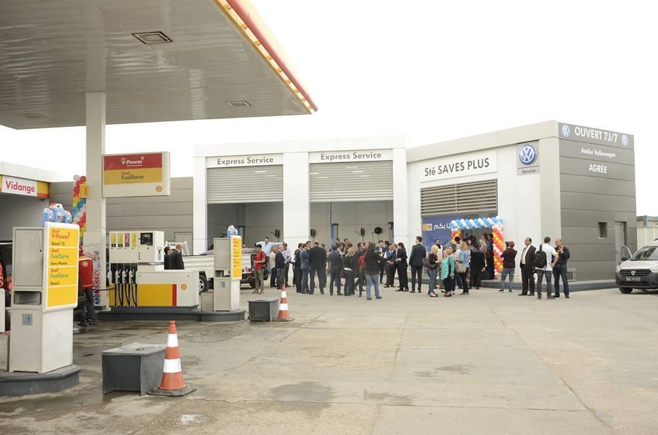 فولكسفاغن تفتتح أول مركز للخدمة السريعة في محطة شال