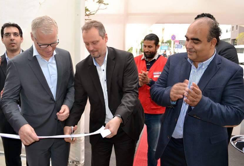 مؤسسات الهادي بن عياد: افتتاح صالة عرض جديدة BOSCH في البحيرة 2