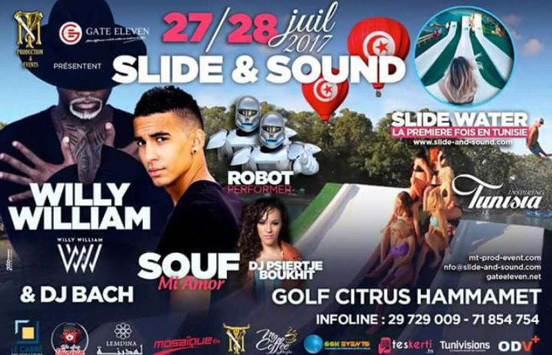 تونس تحضن أول مهرجان دولي Slide and Sound يومي 27 و 28 جويلية