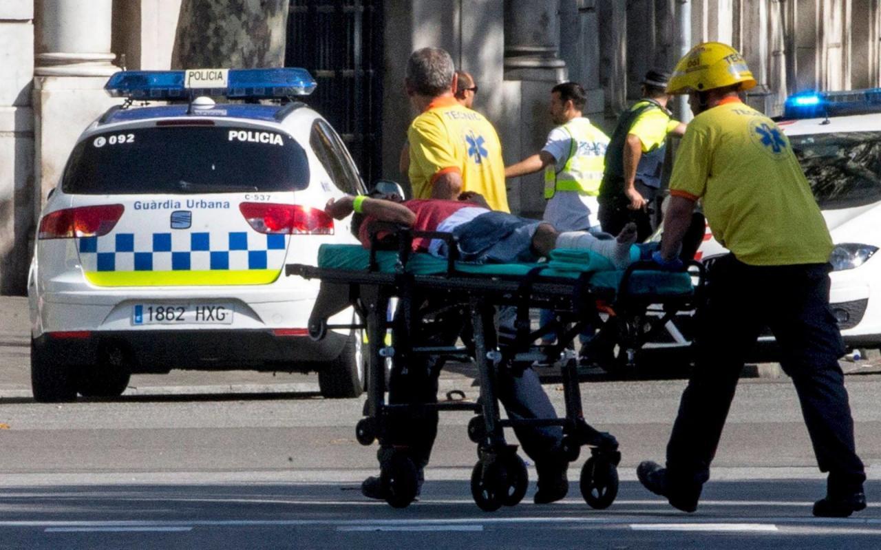 اسبانيا: مقتل 13 شخصا وجرح العشرات في عملية دهس...والجاني ليس تونسيا!