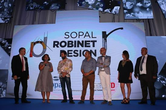 برعاية مؤسسة SOPAL: الاعلان عن نتائج مسابقة SOPAL Robinet Design