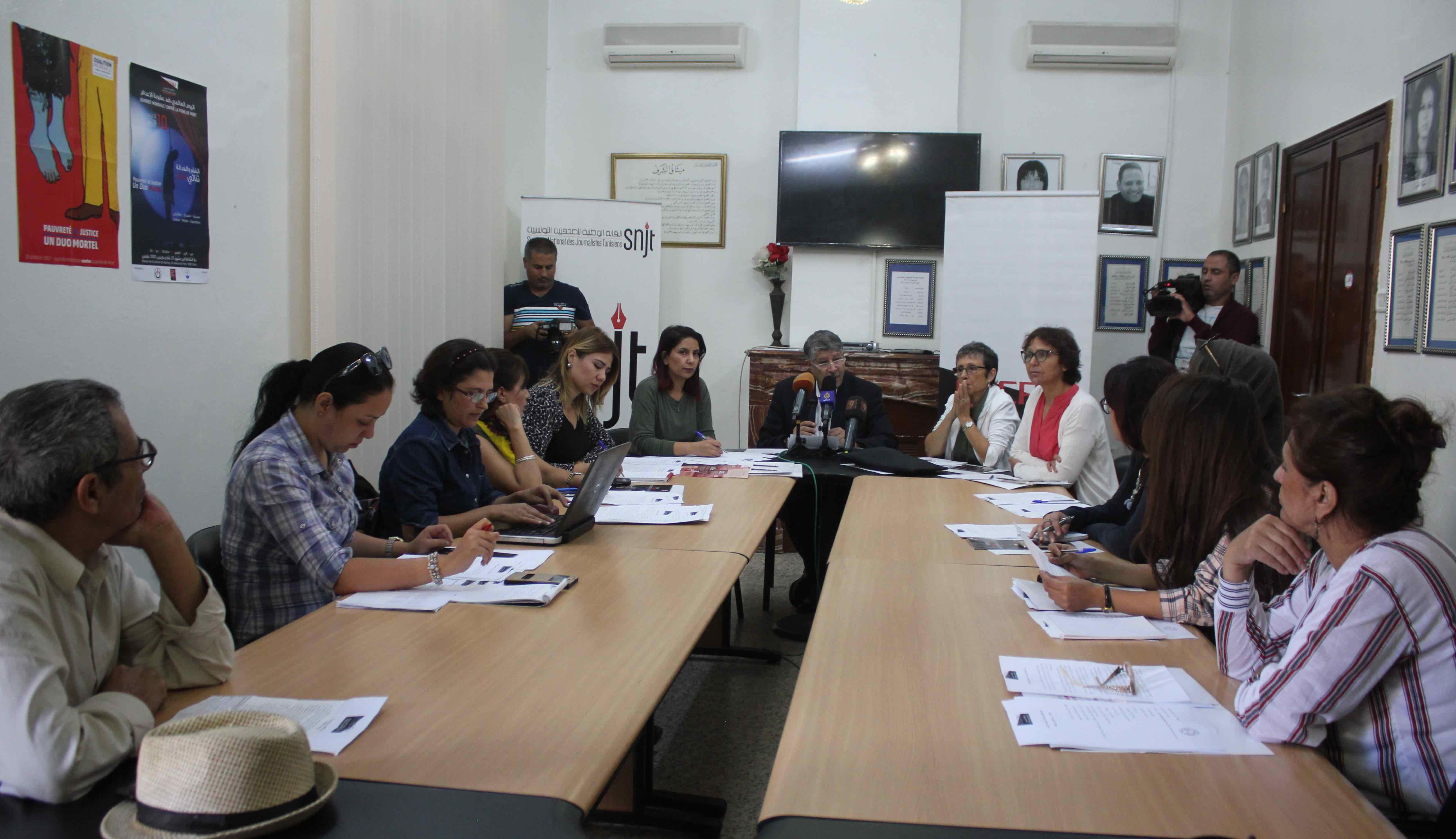 دعما للحق في الحياة: نقابة الصحفيين والمجتمع المدني يشدّدون على ضروروة الغاء عقوبة الاعدام
