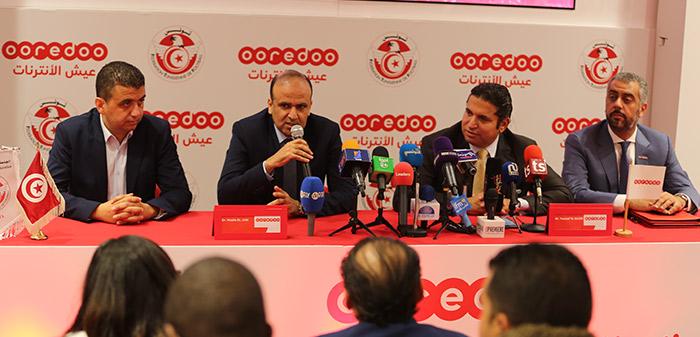 ooredoo الراعي الرسمي للمنتخب التونسي لكرة القدم