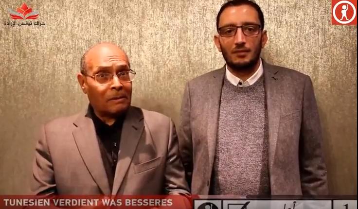 بالفيديو: المنصف المرزوقي يدعم ياسين العياري..ويفضح حافظ قائد السبسي