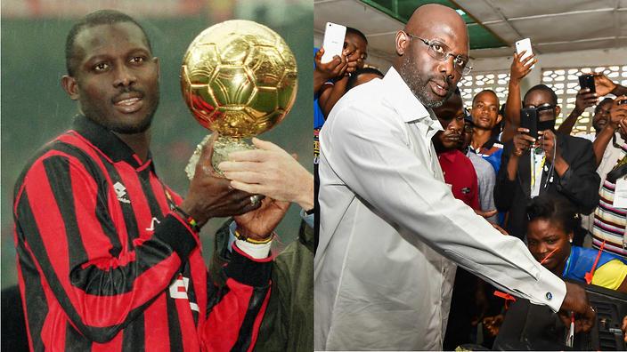 من الرياضة الى السياسة: أسطورة كرة القدم الافريقية جورج ويا يفوز بالانتخابات الرئاسية في ليبيريا