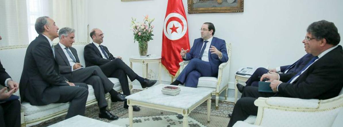 خلال لقاءه بالشاهد: أنجيلو ألفانو يؤكد على دعم ايطاليا لتونس في مسارها السياسي والاقتصادي