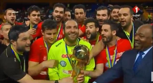 للمرّة العاشرة في تاريخه: المنتخب التونسي لكرة اليد بطل افريقيا 2018