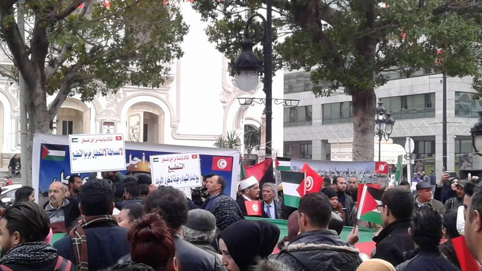 في العاصمة: مكونات من المجتمع المدني والطيف السياسي تطالب بتجريم التطبيع