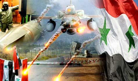 ملامح حرب جديدة: اسرائيل تقصف مواقع في العمق السوري.. والشرق الأوسط يشتعل!