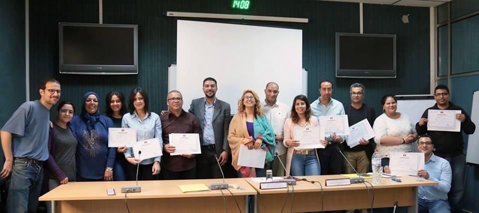 برنامج تعزيز الصحافة المتخصصة: اختتام الدورة التدريبية حول التغطية الصحفية للانتخابات البلدية