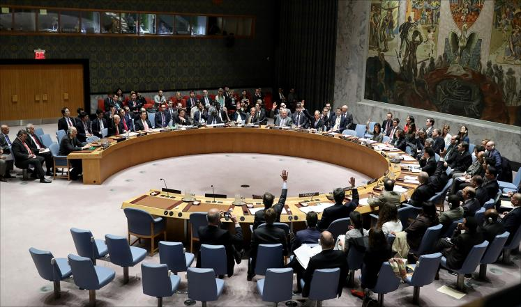 من مجلس الأمن: واشنطن تعلن عزمها على توجيه ضربة عسكرية لدمشق