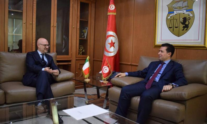 أبرزها FIAT: السفير الايطالي يؤكد على رغبة مؤسسات ايطالية في الاستثمار في تونس