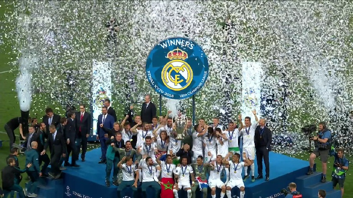 للعام الثالث على التوالي: ريال مدريد بطل أوروبا للمرة 13 في تاريخه