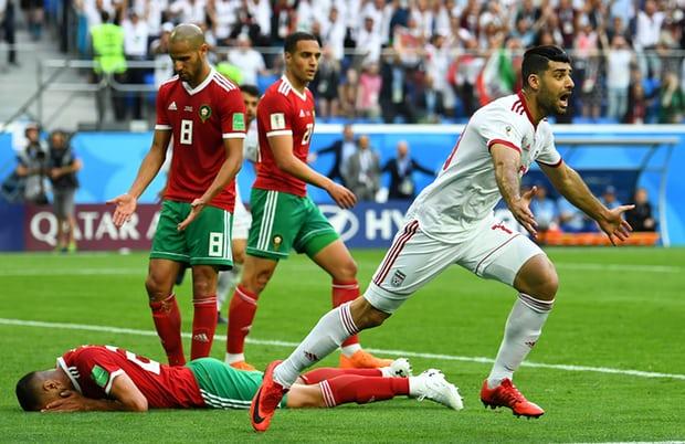مونديال روسيا 2018: هزيمة المنتخب المغربي أمام المنتخب الايراني