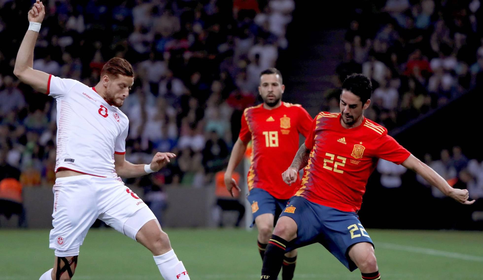 في الدقائق الأخيرة: تونس تنهزم أمام اسبانيا.. وتفاءل بأداء المنتخب قبل انطلاق كأس العالم