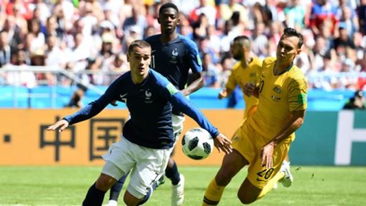 كأس العالم: فوز صعب لفرنسا أمام أستراليا
