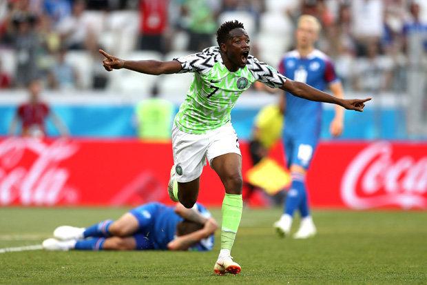 بعد فوزها على ايسلندا: نيجيريا تشعل مجموعة الأرجنتين