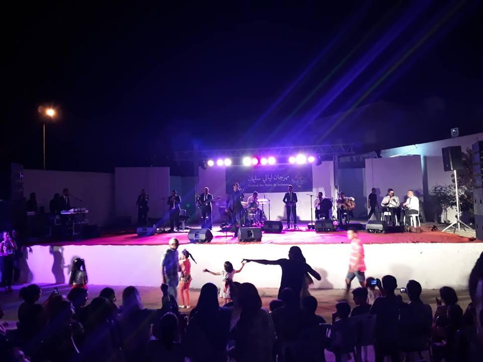 بالصور:  نجاح جماهيري لحفل نور شيبة في مهرجان ليالي سليمان