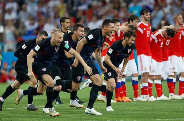 للمرّة الثانية في تاريخها: كرواتيا في الدور النصف النهائي لكأس العالم