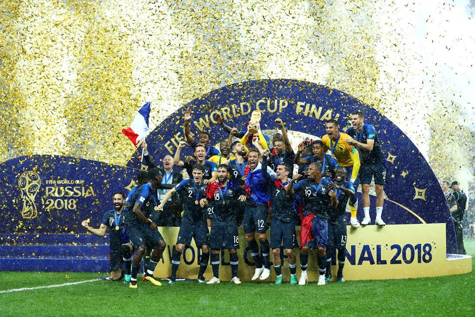 مونديال روسيا 2018: المنتخب الفرنسي بطل العالم..وديدييه ديشان يدخل التاريخ