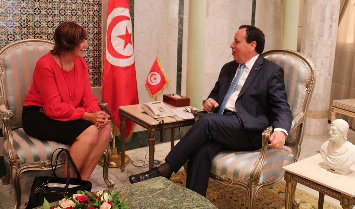 في لقاءه بالسفيرة الكندية: وزير الخارجية يدعو إلى مراجعة نصائح سفر الكنديين الى تونس