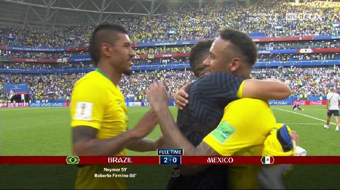 مونديال روسيا 2018: نايمار يقود البرازيل الى الدور الربع النهائي