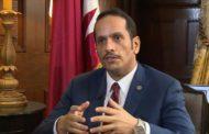 وزير الخارجية القطري: الدوحة مستعدة لاجراء حوار غير مشروط مع دول الحصار