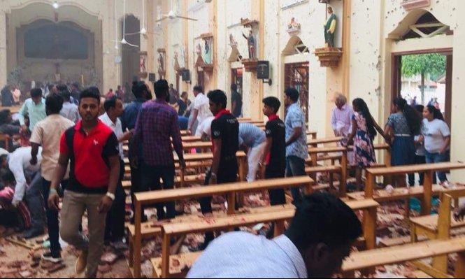سيريلنكا: مقتل أكثر من 200 شخص في تفجيرات ارهابية استهدفت كنائس ونزل