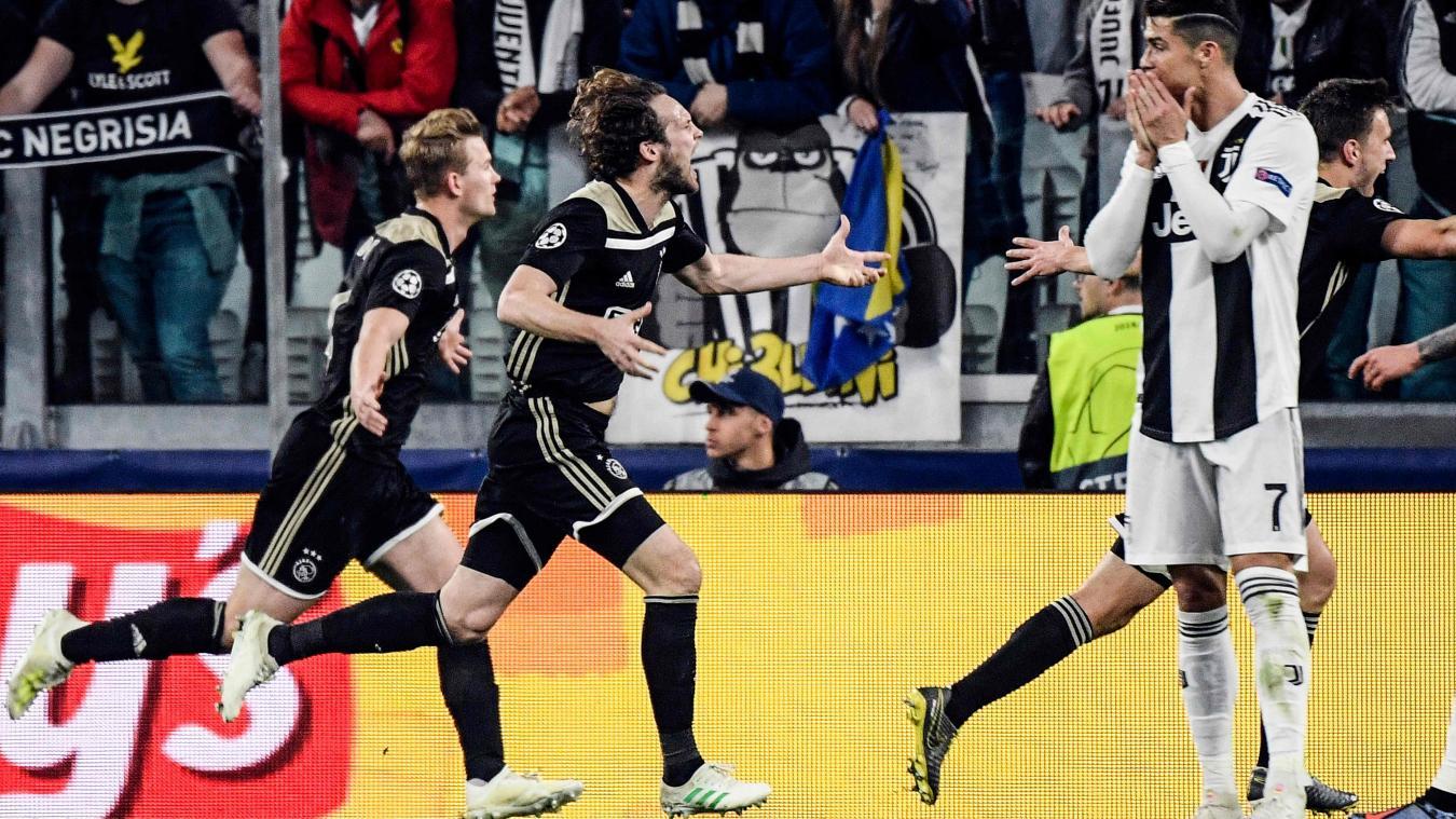 رابطة الأبطال الأوروبية: أياكس أمستردام يقصي جوفنتوس من الدور الربع النهائي!