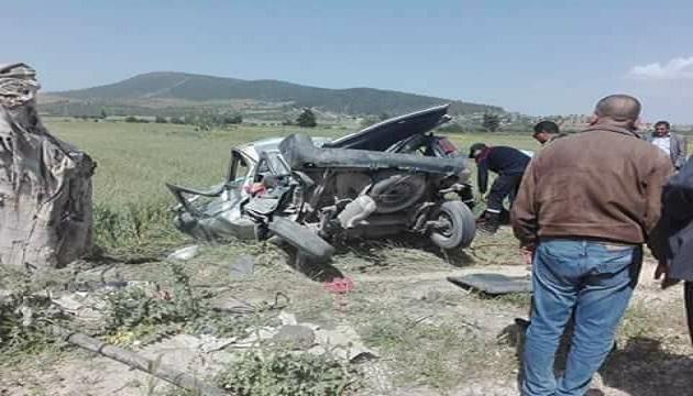 بين قبلي وقابس/ حادث مرور يُسفر عن وفاة شاب وإصابة والده إصابات خطيرة