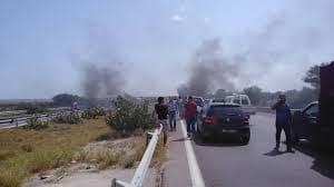 بن عروس: حادث اصطدام شاحنة لنقل المحروقات بحافلة.. واصابات متفاوتة الخطورة