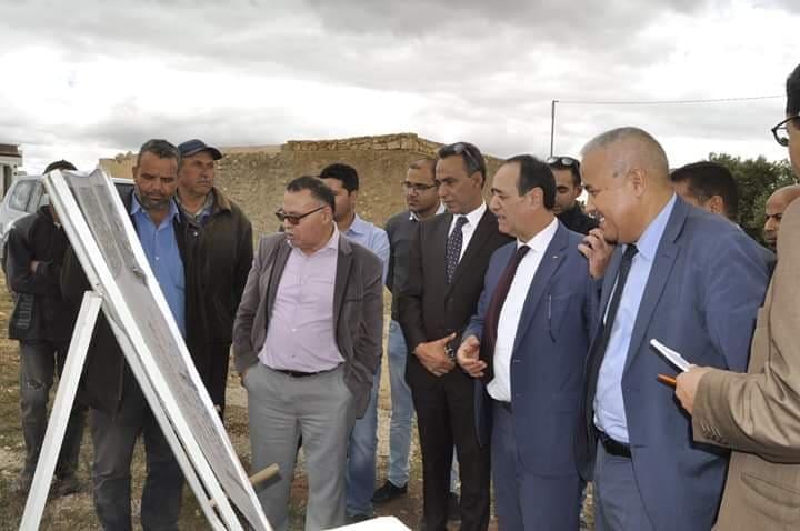 بمناسبة الندوة الإقليمية حول قطاع المياه في أفق  2050: عبد الله الرابحي يعاين مشاريع التزود بالماء في القيروان
