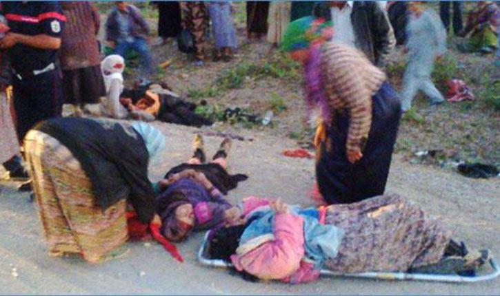 من بينهم حالة وصفت بالخطيرة: إنقلاب شاحنة تقلّ عاملات فلاحيّات في مدنين!