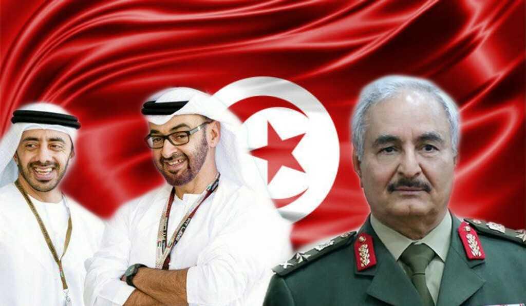يحمل بصمات حفتر وحكام الامارات: الكشف عن مخطّط لزعزعة الإستقرار في تونس قبل موعد الإنتخابات!