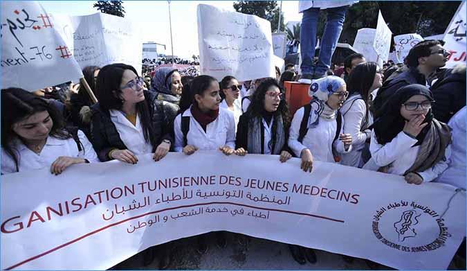وزارة الصحة تقوم بتجويع الأطباء الشبان!