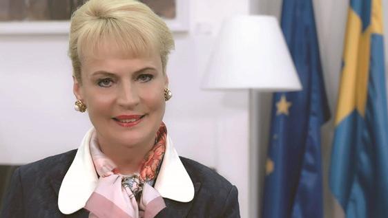 سفيرة سويدية: قطر أبهرت العالم.. وحوّلت الحصار إلى قصة نجاح