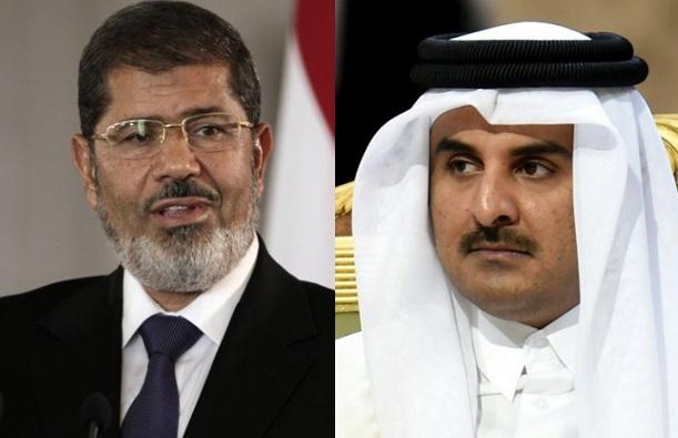 أمير دولة قطر يقدم تعازيه لوفاة الرئيس المصري الأسبق محمد مرسي