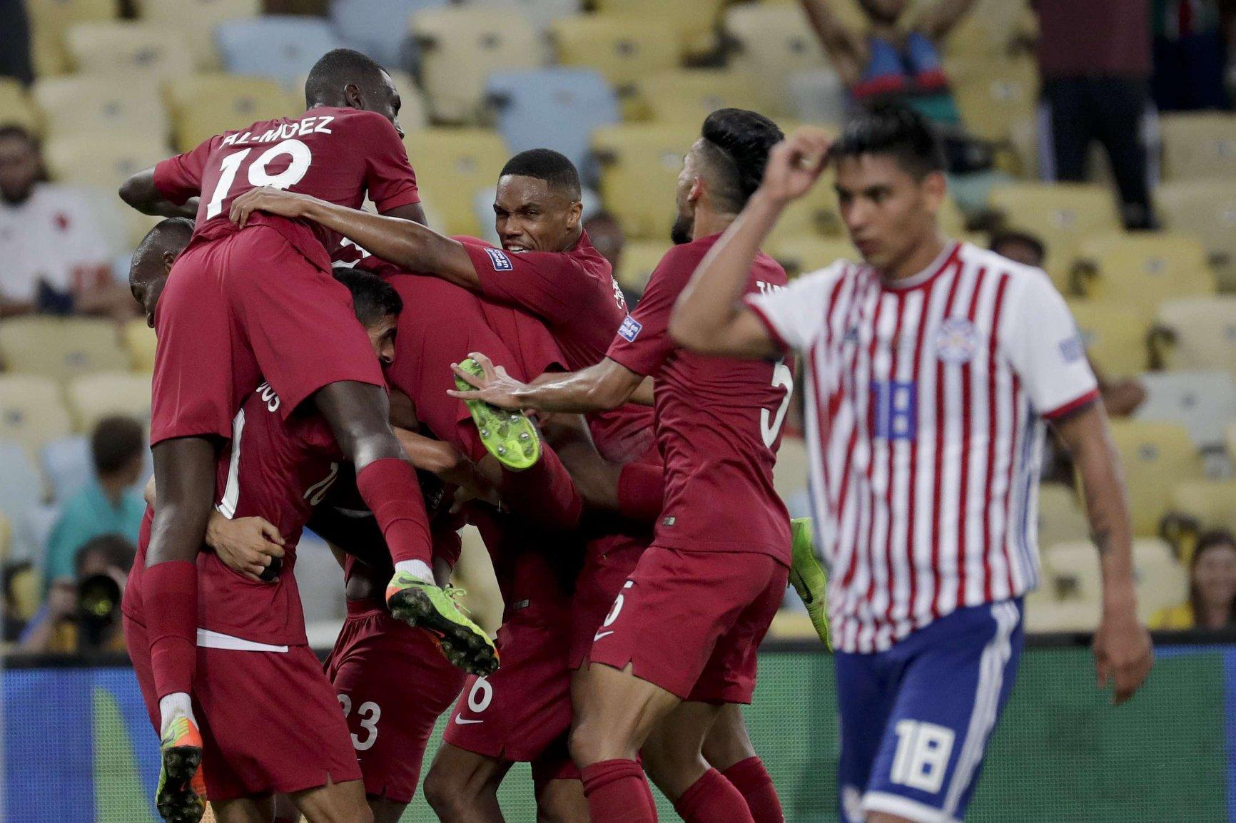 قطر تفتك تعادلا ثمينا من الباراغواي في أولى ظهور لها بكوبا أمريكا