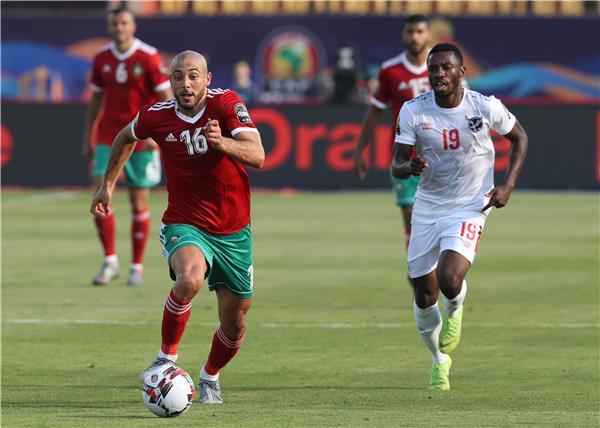 كأس افريقيا للأمم: المغرب يفوز على ناميبيا بشق الأنفس!!