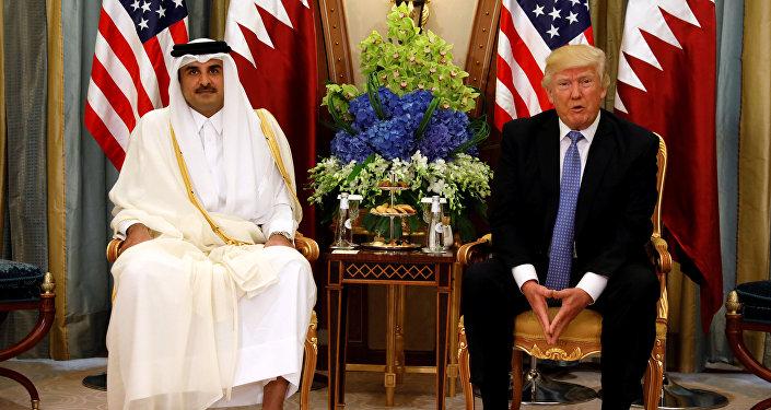 وسط ترقب من دول الحصار: ترامب يستقبل أمير قطر