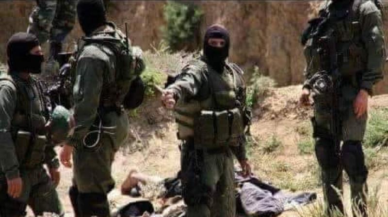 عاجل/القضاء على عنصر ارهابي في جبل عرباطة
