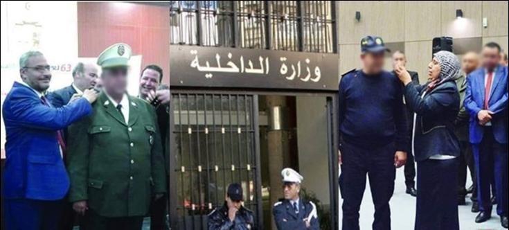 وزير الداخلية يوضح بخصوص توسيم أمنيين من قبل نواب النهضة