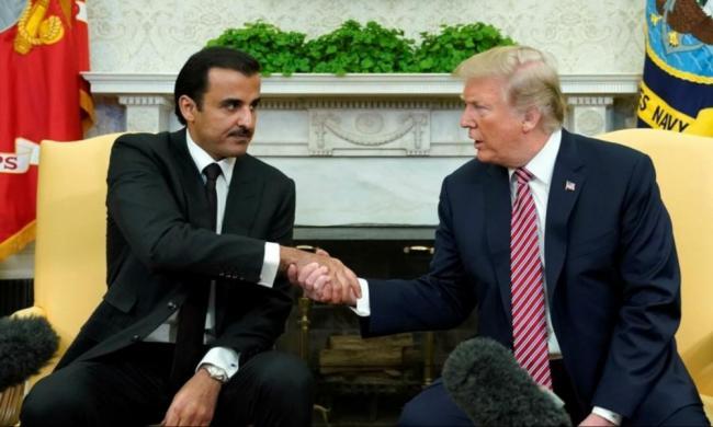 خلا زيارته لواشنطن: ٲمير قطر يبرم مع ترامب اتفاقيات و صفقات هامة