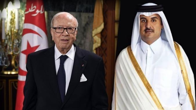 على رأسها أمير قطر: السبسي يتلقى برقيات واتصالات هاتفية من قادة وملوك للاطمئنان على صحته