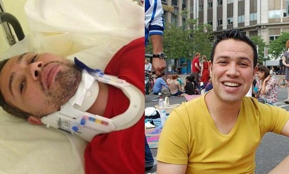 الاعتداء بالضرب في باريس على المتحدث باسم جمعية شمس