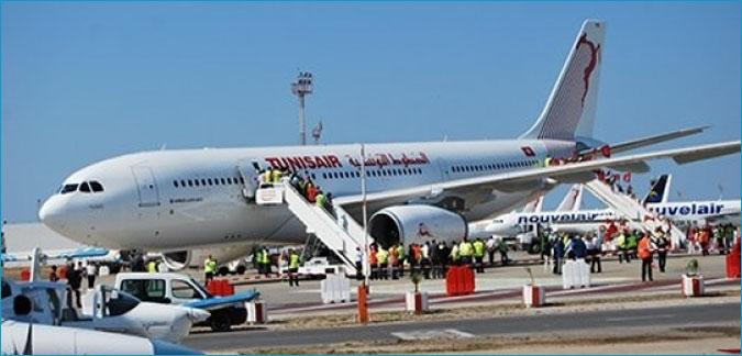 الخطوط التونسيّة/ تقلّص حركة المسافرين بـ26،4% خلال شهر أوت