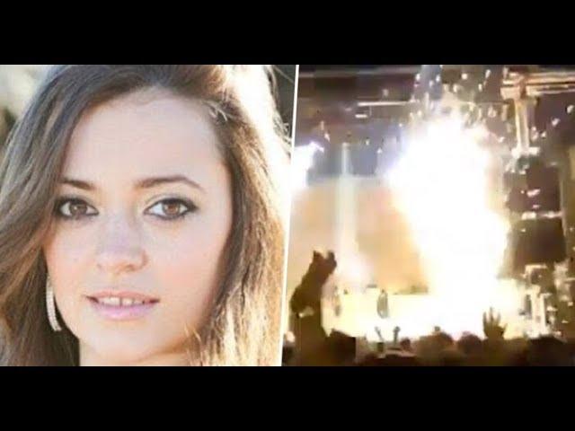 بالفيديو/ انفجار على خشبة المسرح يودي بحياة فنّانة إسبانيّة شهيرة